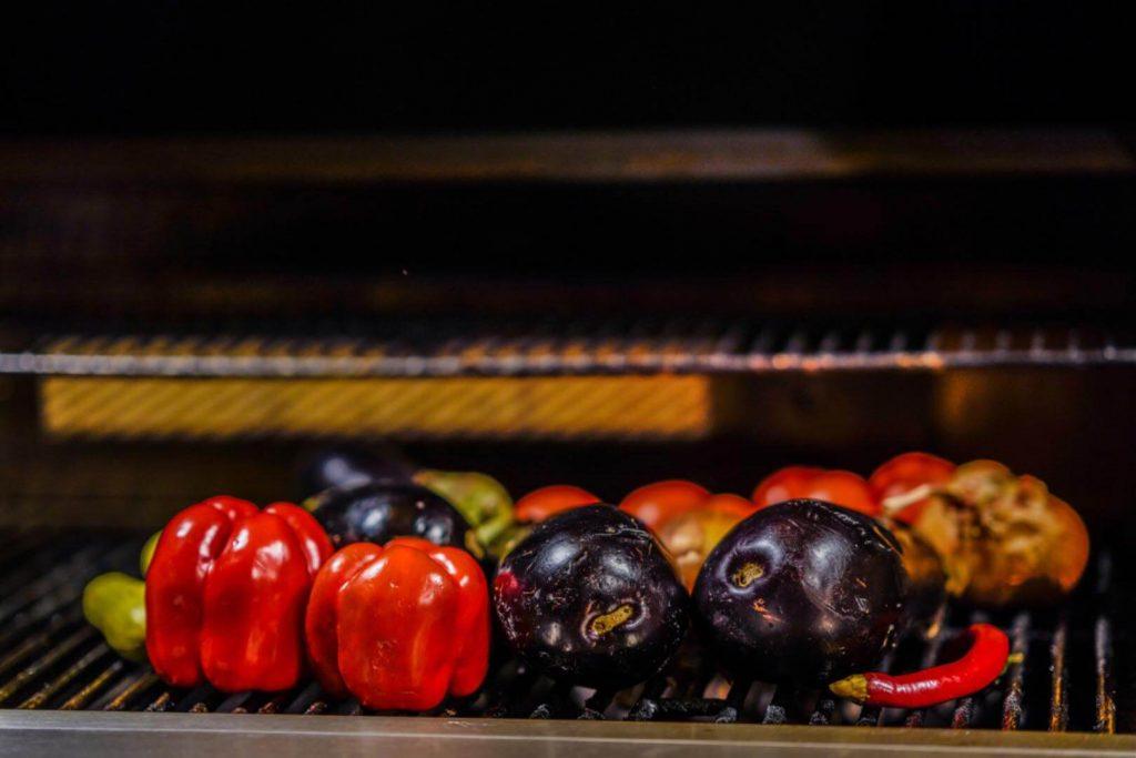 מטבחי חוץ ירקות על האש נילסן ישראל nielsen.co.il